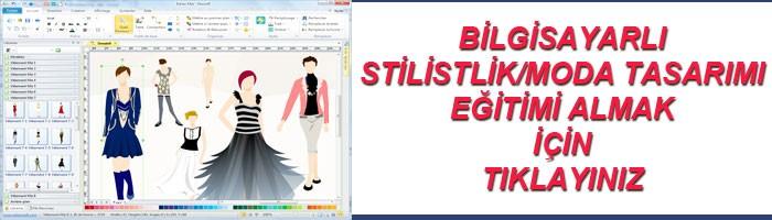Bilgisayarlı stilistlik ve moda tasarımı eğitimi
